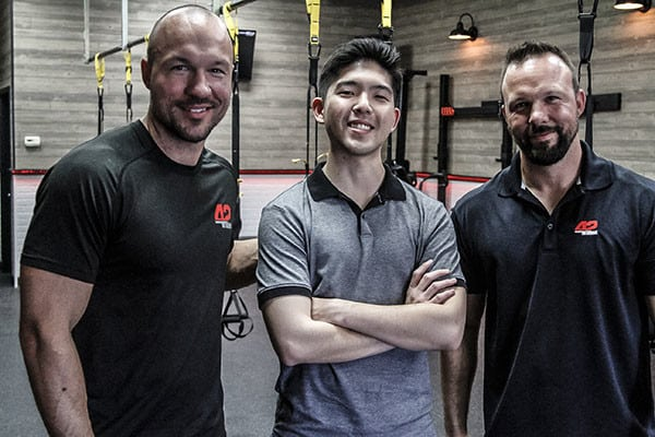 Co-founders of Fit in 42 and Owner of Pokehana: Casey Washack, Daniel Lee, Gerry Washack